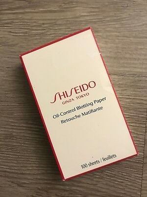 SHISEIDO  Oil-Control Blotting Paper, 100 count NEW