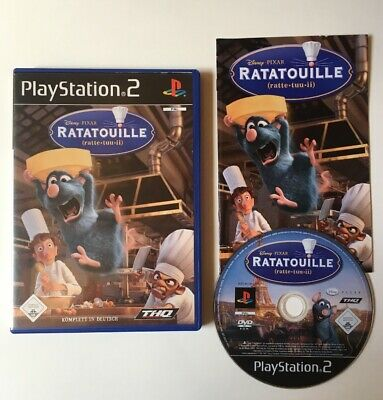PS2 Spiele Ratatouille (Sony PlayStation 2, 2007) In OVP Mit Anleitung Komplett