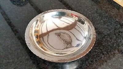 KSIA Keswick Stainless Steel Fruit Bowl with beautiful, delicate hammered finish