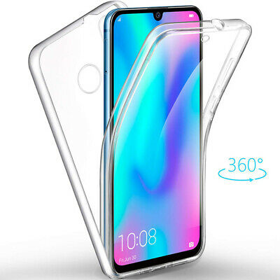 Funda Gel Tpu + Pc Dura Doble Cara 360º Samsung Galaxy A40 Transparente