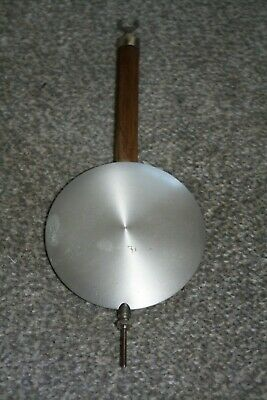 Vintage Wall Clock Large Aluminium Pendulum for parts/spares/ repairs