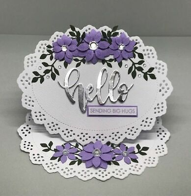 Oval Lace Frame Metal Cutting Dies Stencils for DIY Scrapbooking Decorative DIY