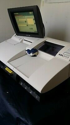 ABL820/ Flex Radiometer Blood Gas Analyser (in excellent working & cosmetic cond