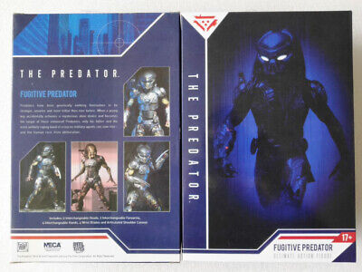 "NECA Fugitive Predator Ultimate 7"" Action Figure AVP Aliens vs Predators New Hot"