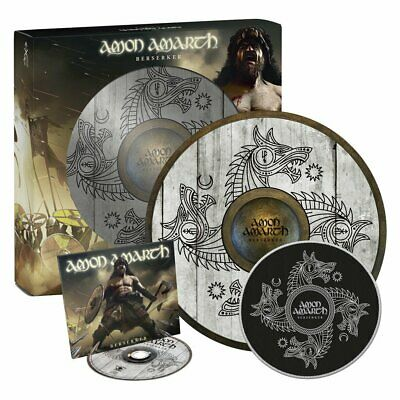 Amon Amarth - Berserker / Special Deluxe Limited Edt. (BOXSET CD+SHIELD+PATCH)