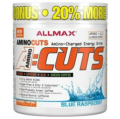 Allmax Nutrition Amino Cuts 36 Serves - Blue Raspberry