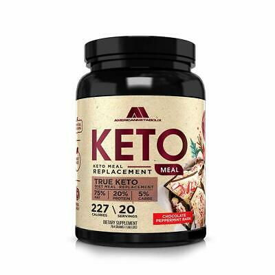 American Metabolix Keto Meal Replacement 764g - Chocolate Peppermint Bark