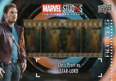 Marvel The First Ten (10) Years, Star-Lord Film Cell Card FC-9