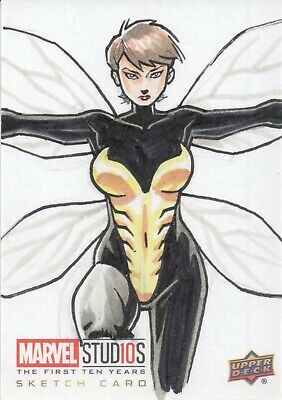 Marvel The First Ten (10) Years, Sketch Card 1/1