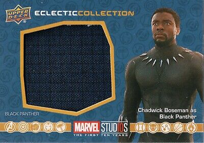 Marvel The First Ten (10) Years, Black Panther Costume Memorabilia Card EC-3