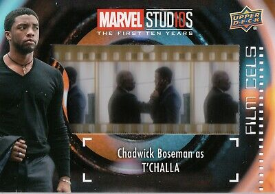 Marvel The First Ten (10) Years, T'Challa Film Cell Card FC-12