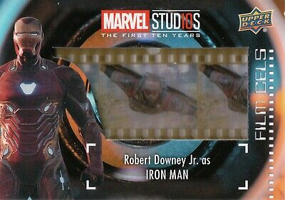 Marvel The First Ten (10) Years, Iron Man Film Cell Card FC-19