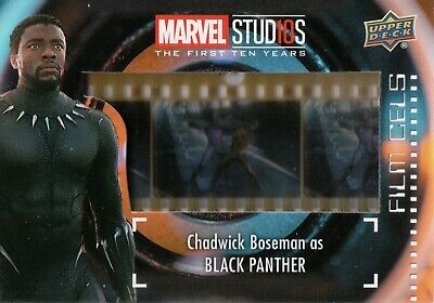 Marvel The First Ten (10) Years, Black Panther Film Cell Card FC-16