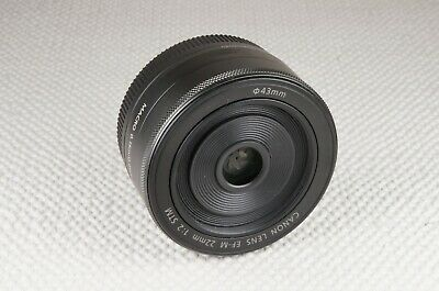 Canon EF-M 22mm f/2 STM Lens - MINT condition