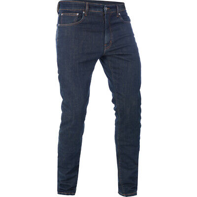 Oxford Hinksey Slim Fit Echo Blue Motorcycle Jeans Motorbike Armoured 36W 32L