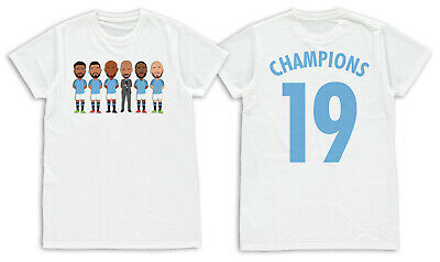 City Champions 2019 Sterling Aguero Mens T-Shirt S- XXL Unofficial Manchester