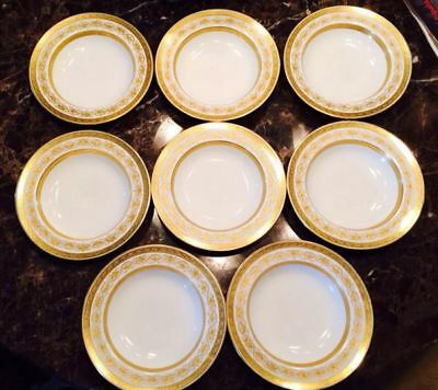Tiffany & Co Minton's New York Fine China 8 Plate Set ☆ New Low Price ☆