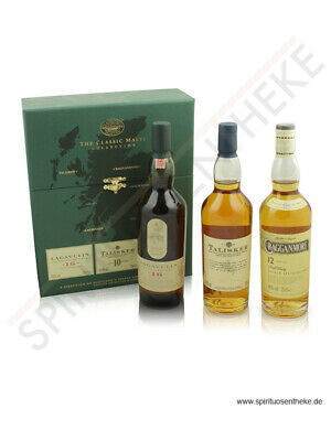The Classic Malts Collection Strong 3 x 0,2 L | Whisky