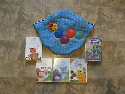 Baby Einstein Musical Motion Jumperoo Replacement Seat Cover + 5 Bonus Dvd's