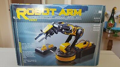 Rapid Robotic Robot Arm Kit - Wired Control OR .Brand New