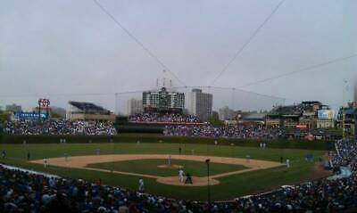 Chicago Cubs vs. St. Louis (2) Tickets 6/7/2019 Wrigley Field- behind home plate
