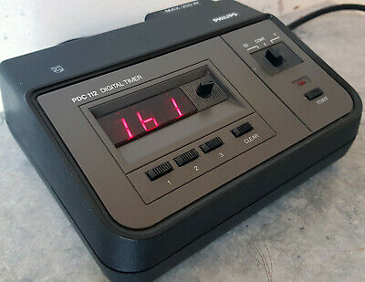 Philips PDC112 Digital Timer. Near mint condition.
