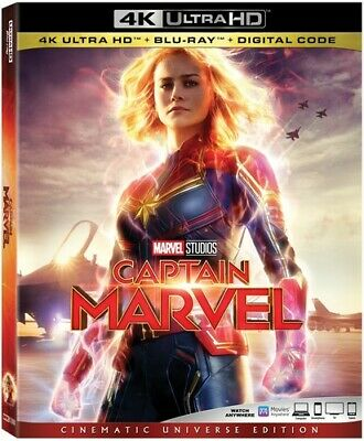 PRE-ORDER Captain Marvel 786936862560 (Blu-ray RELEASE: 11 Jun 2019)