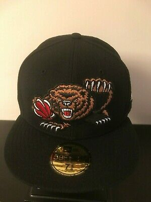 check out a2415 5ae77 Vancouver Memphis Grizzlies NBA Bear New Era 59fifty 5950 Fitted Cap Hat