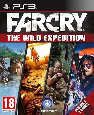 FAR CRY THE WILD EXPEDITION PS3 PlayStation 3 Video Game UK Rele New Sealed