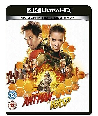 Ant Man And The Wasp (Bluray 4K) Includes 2D Bluray