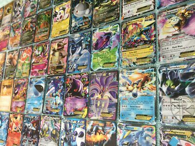 POKEMON CARD LOT OFFICIAL TCG CARDS - Ultra Rare Guaranteed - EX, Mega, Prime