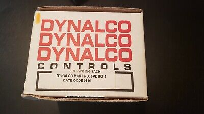 New DYNALCO Digital Tachometer SPD100 Made in USA