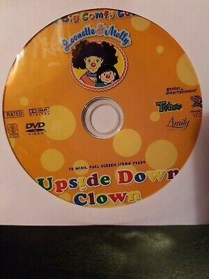 The Big Comfy Couch Leonette & Molly Upside Down Clown  Dvd