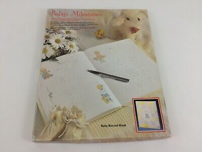 Vintage Baby Book Baby's Milestones Birth To Seven Years Record 1977 Gibson