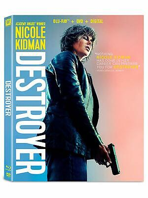 DESTROYER (BLU-RAY, 2019) NO DVD, NO DIGITIAL/ Original Case and Artwork