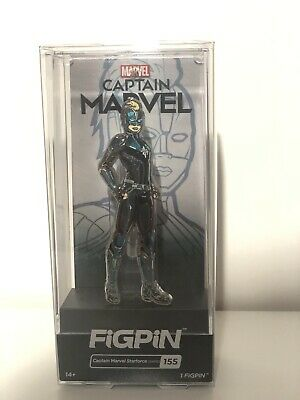 FiGPiN Captain Marvel Starforce (RARE) Limited Edition ECCC Exclusive.