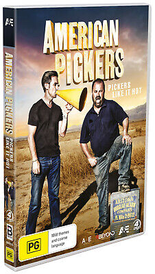 BRAND NEW American Pickers - Pickers Like It Hot (DVD, 2019, 4-Discs) *PREORDER