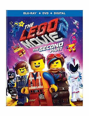 The Lego Movie 2: The Second Part (Blu-ray Disc, 2019) NO DVD, NO DIGITAL