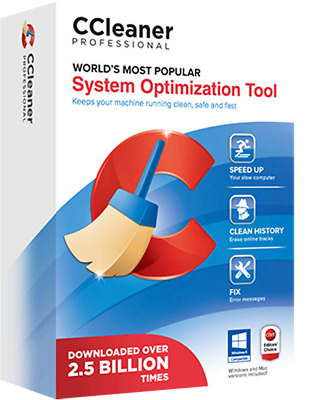 Ccleaner Professional 1 Year 365 day Licenese Key 1 Pc-Windows Download