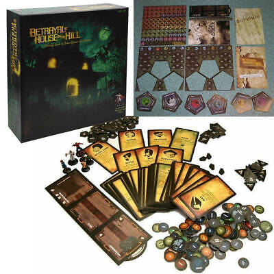 Betrayal at House on the Hill Board Game - Brand New - Sealed BACKORDER