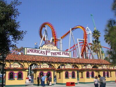 2 Knotts Berry Farm Buena Park, California e Tickets Go Any day adult or child