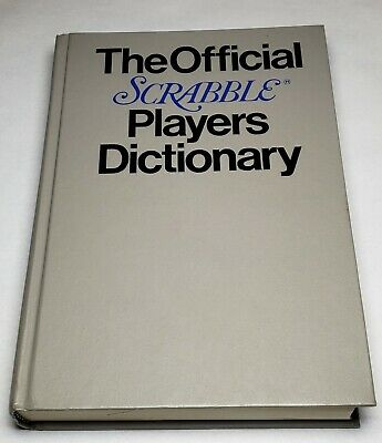 The Official Scrabble Players Dictionary 1978 Hardcover