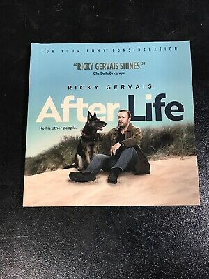 AFTER LIFE~2019 NETFLIX FYC DVD COMPLETE 6 Episode SEASON ONE~RICKY GERVAIS