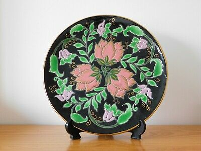 Large Vintage Spain Spanish Ceramic Mozaic Glazed Wall Charger