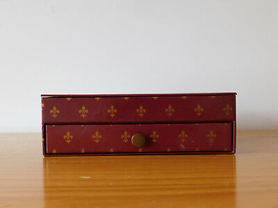 c.20th - Vintage British Desk Set Box in French Style