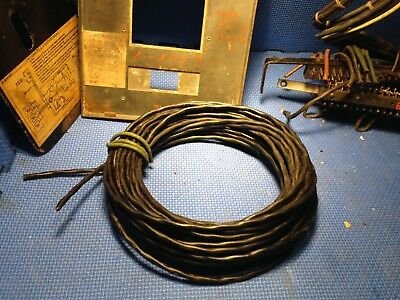 Input Wire 33' 10m from Western Electric WE TA-7352 86/87 Movie Sound Amplifiers
