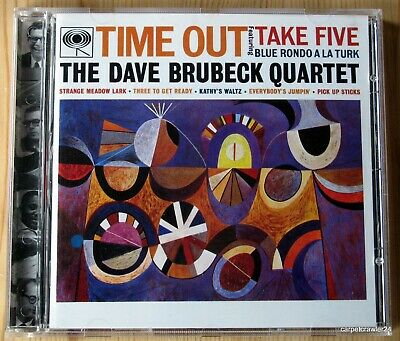 THE DAVE BRUBECK QUARTET: TIME OUT [CD] (1997) Take Five| Remastered | NEUWERTIG