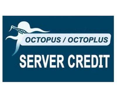 New server Credits 100 Credits for Octopus / Octoplus + c3300k cable