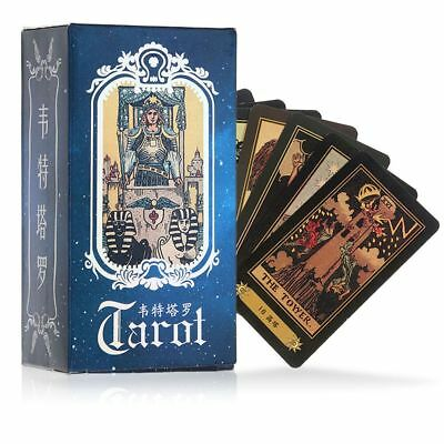 The Wild Unknown Tarot Deck Rider-Waite 78pcs/Set Fortune Telling Cards Game Toy