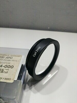 CARL ZEISS MICROSCOPE LENS f=200 APO boxed (2)